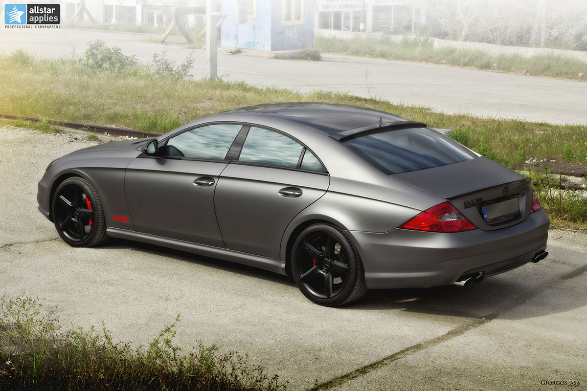 Mercedes CLS 55 AMG - Dark Grey Matte (14)