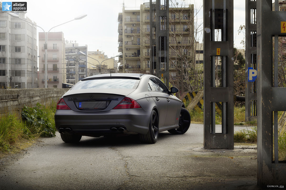Mercedes CLS 55 AMG - Dark Grey Matte (15)