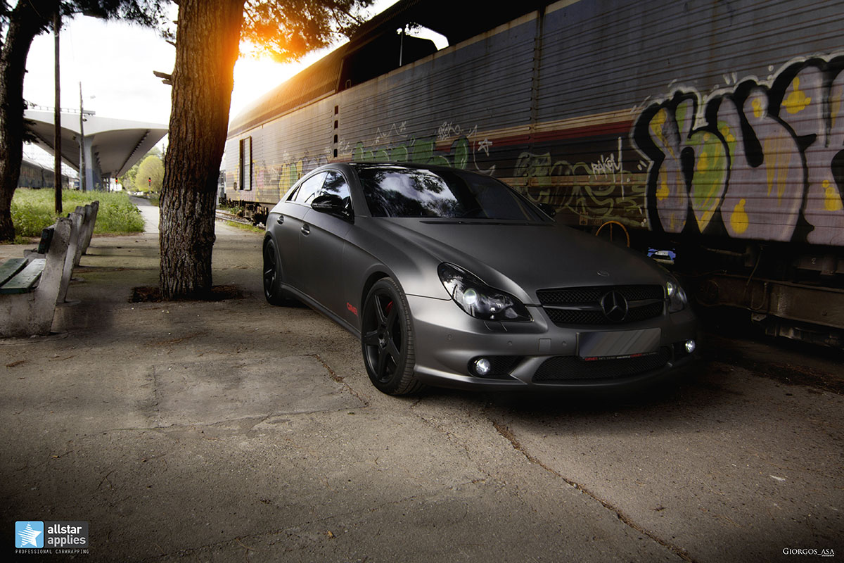 Mercedes CLS 55 AMG - Dark Grey Matte (16)