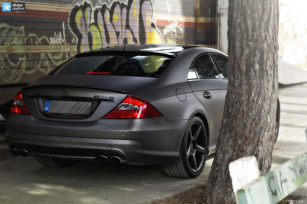 Mercedes CLS 55 AMG - Dark Grey Matte (18)