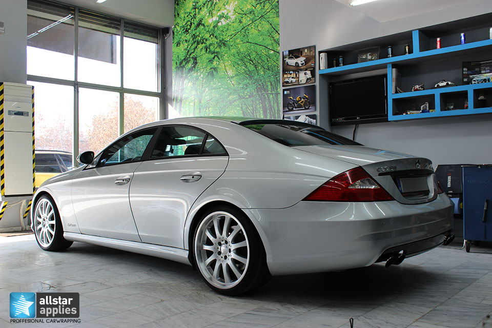 Mercedes CLS 55 AMG - Dark Grey Matte (19)