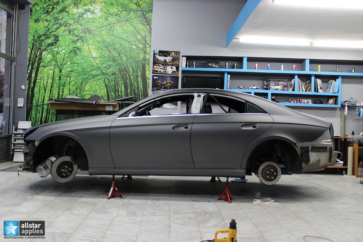Mercedes CLS 55 AMG - Dark Grey Matte (2)