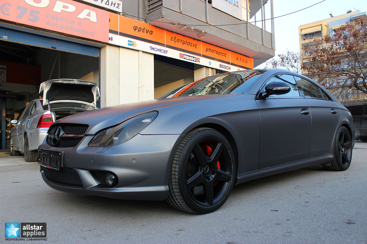 Mercedes CLS 55 AMG - Dark Grey Matte (3)