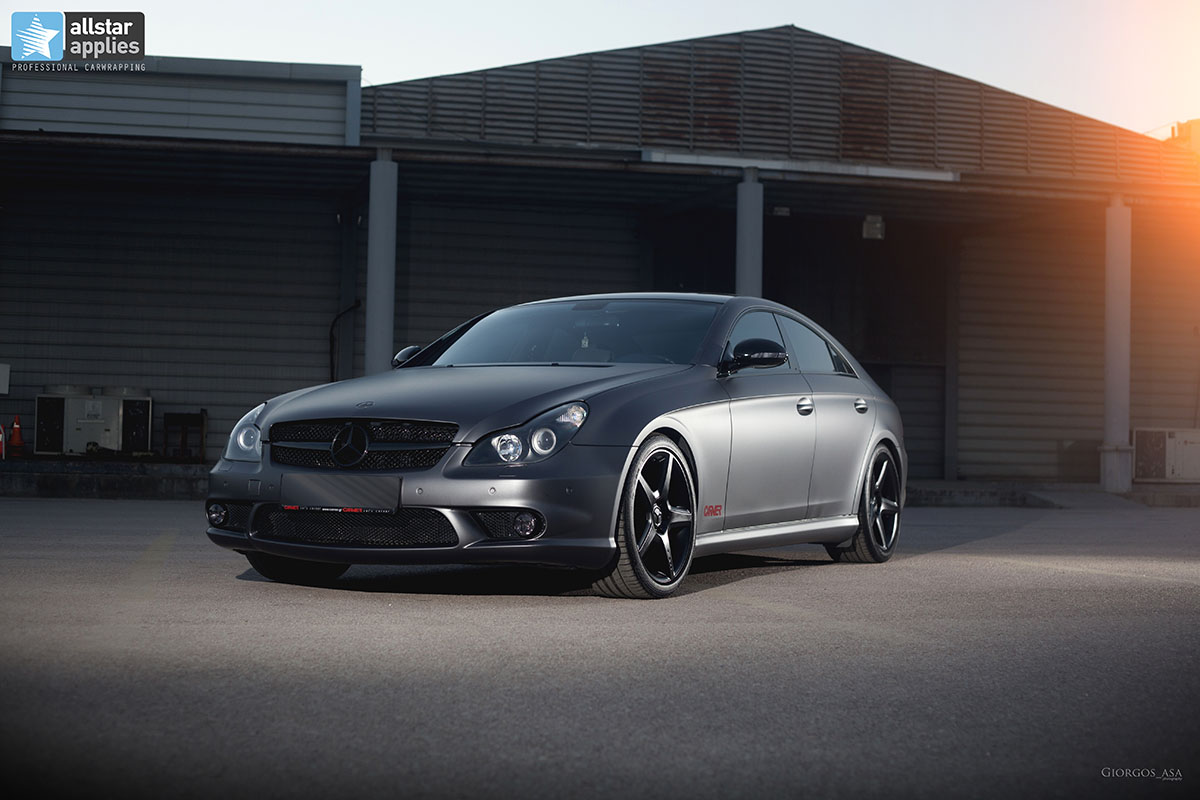 Mercedes CLS 55 AMG - Dark Grey Matte (4)