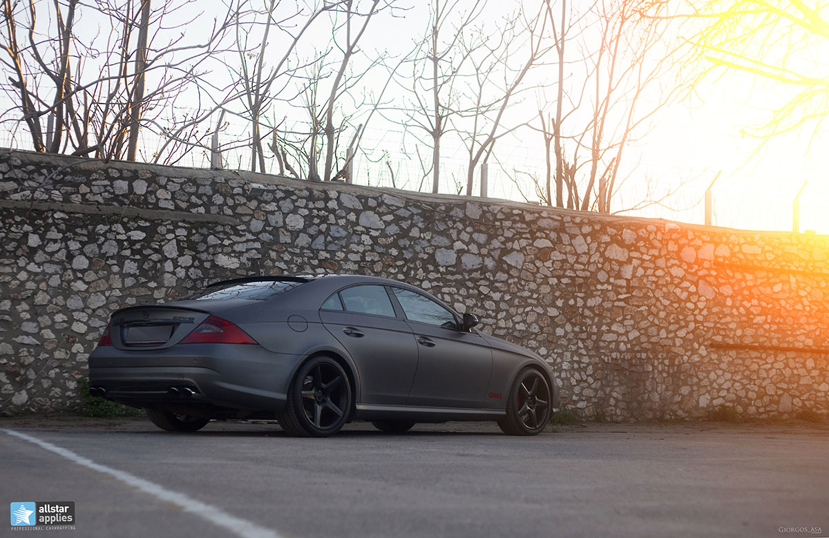 Mercedes CLS 55 AMG - Dark Grey Matte (6)