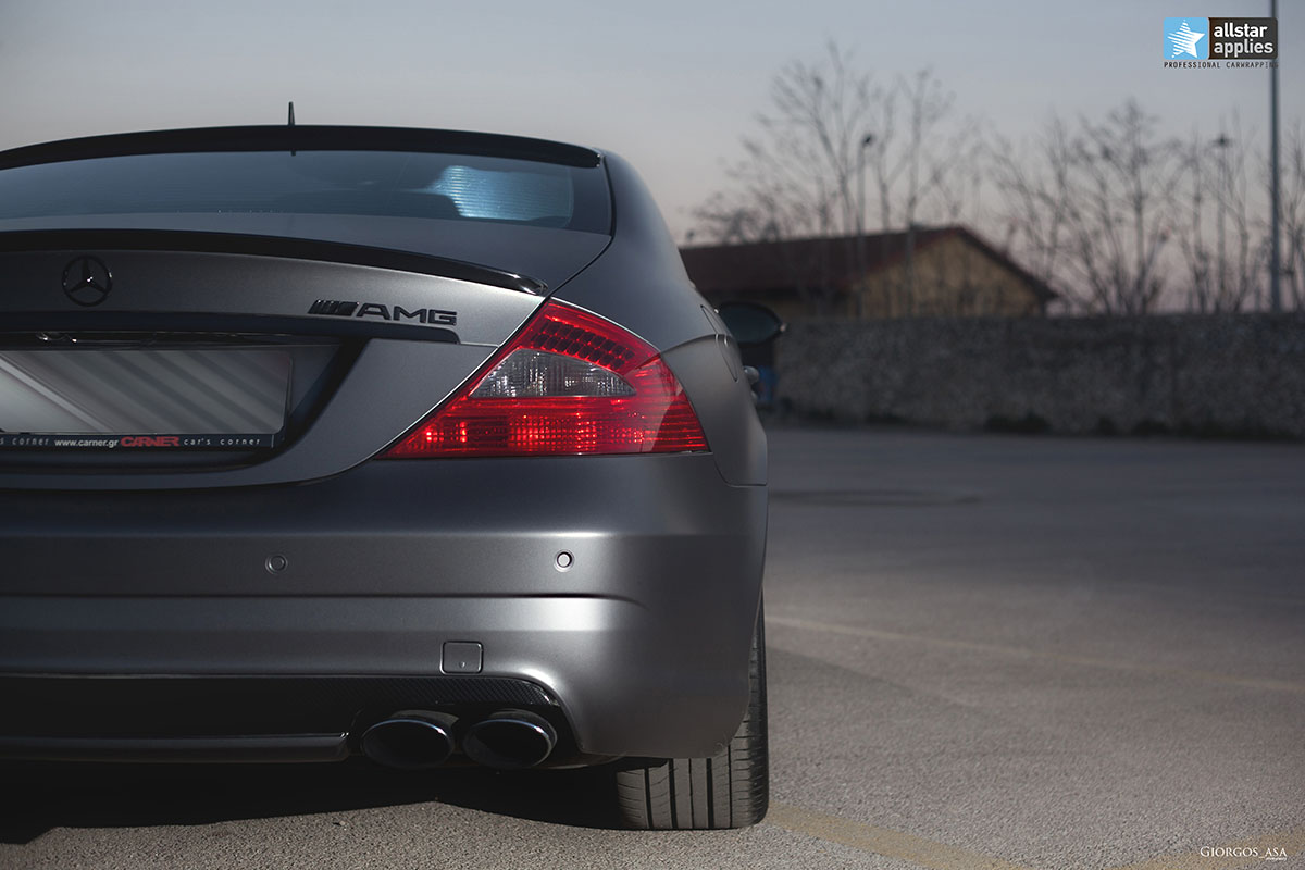 Mercedes CLS 55 AMG - Dark Grey Matte (7)