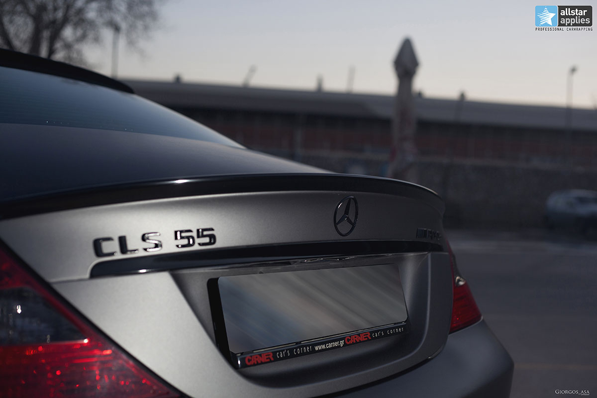 Mercedes CLS 55 AMG - Dark Grey Matte (8)