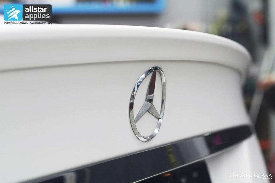 Mercedes CLS 63 AMG - White Satin Matte (10)