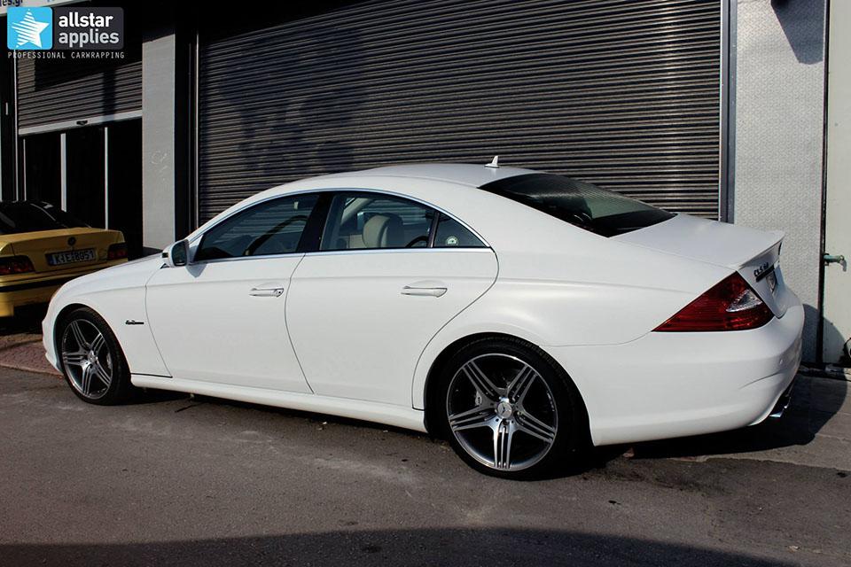 Mercedes CLS 63 AMG - White Satin Matte (11)