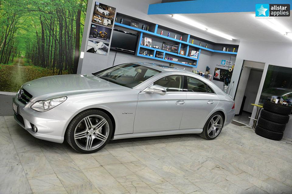 Mercedes CLS 63 AMG - White Satin Matte (12)