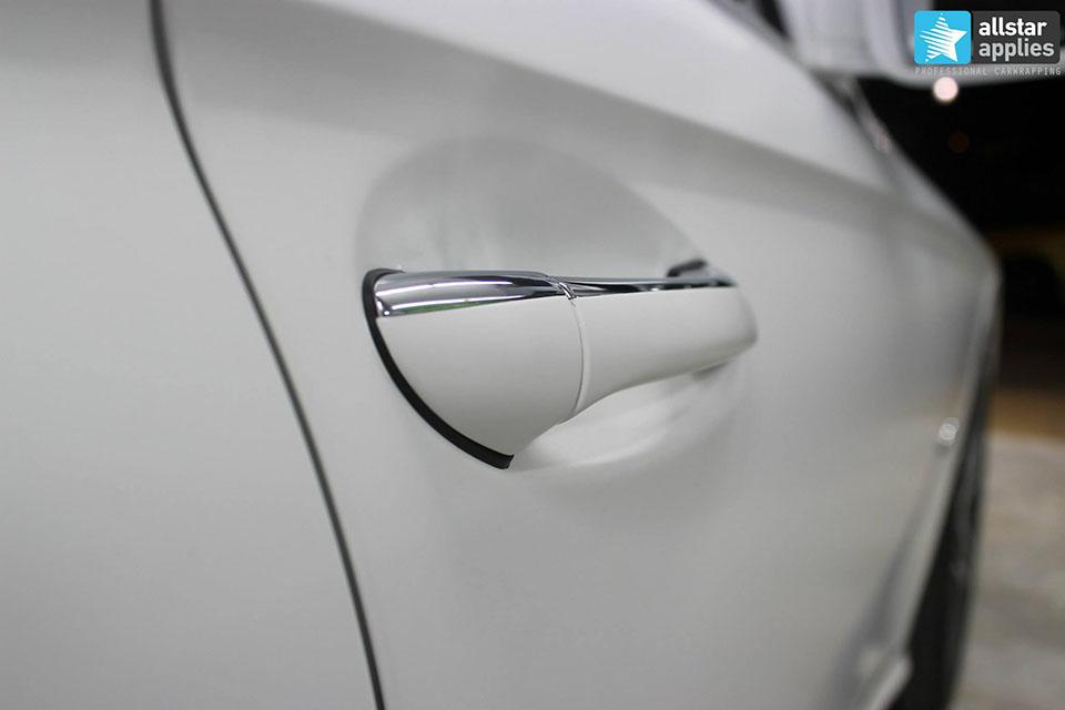 Mercedes CLS 63 AMG - White Satin Matte (4)