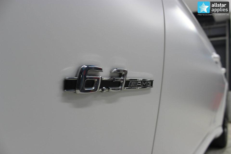 Mercedes CLS 63 AMG - White Satin Matte (5)
