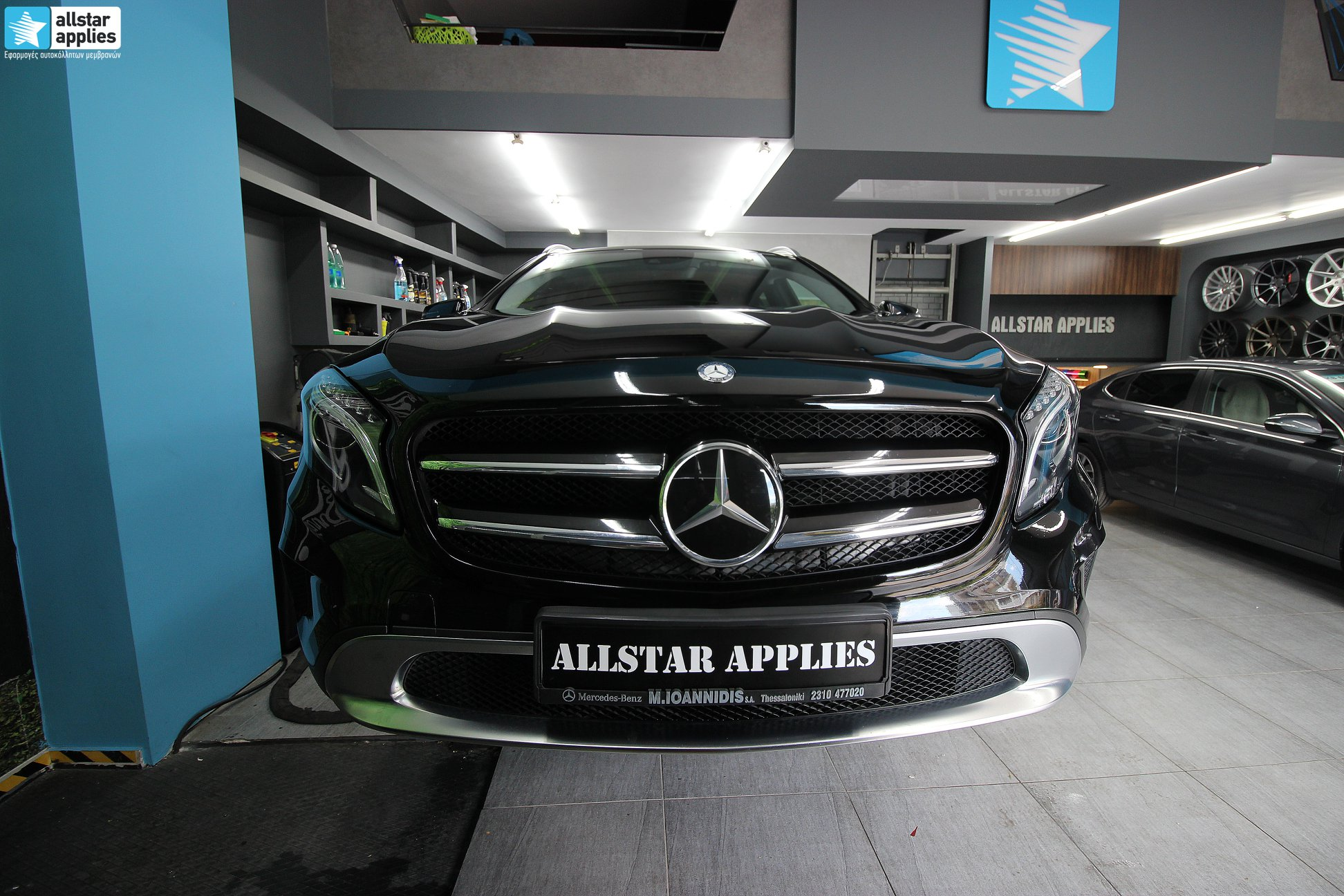 Mercedes-GLA-–-Μεμβράνες-Προστασίας-χρώματος-Paint-Protection-Film-1