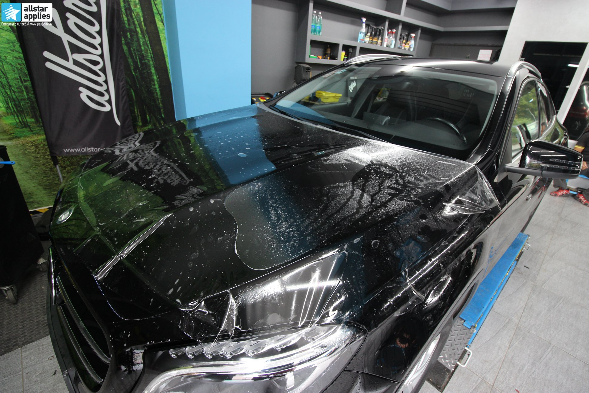 Mercedes-GLA-–-Μεμβράνες-Προστασίας-χρώματος-Paint-Protection-Film-2