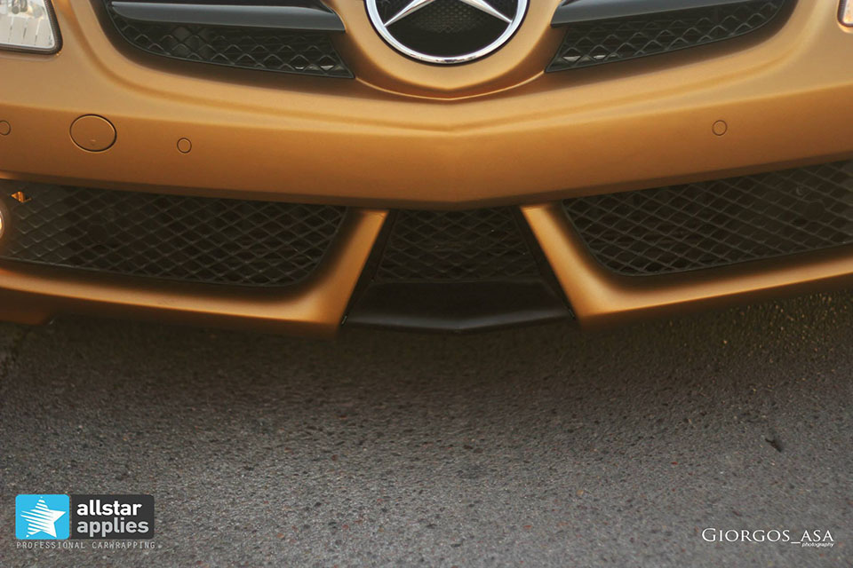 Mercedes SLK – Gold Tropic Matte (5)