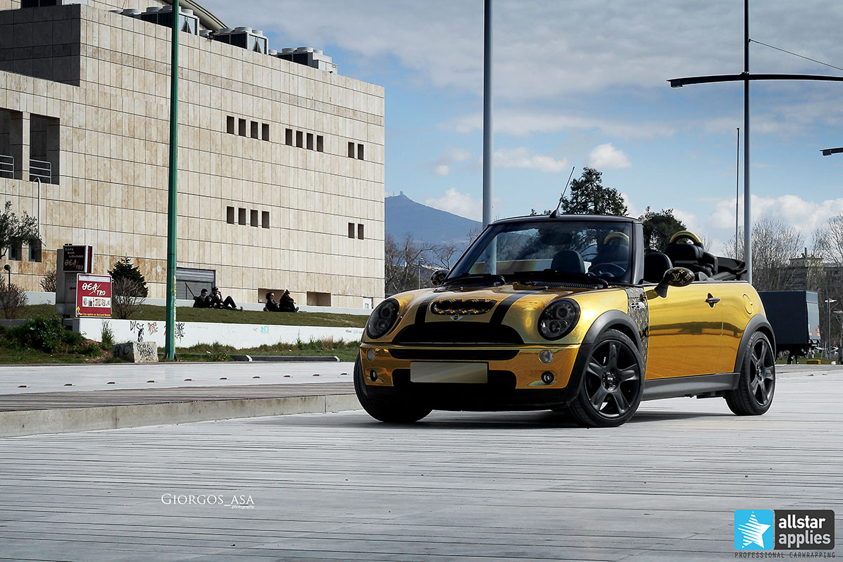 Mini Cooper S - Gold Chrome (10)