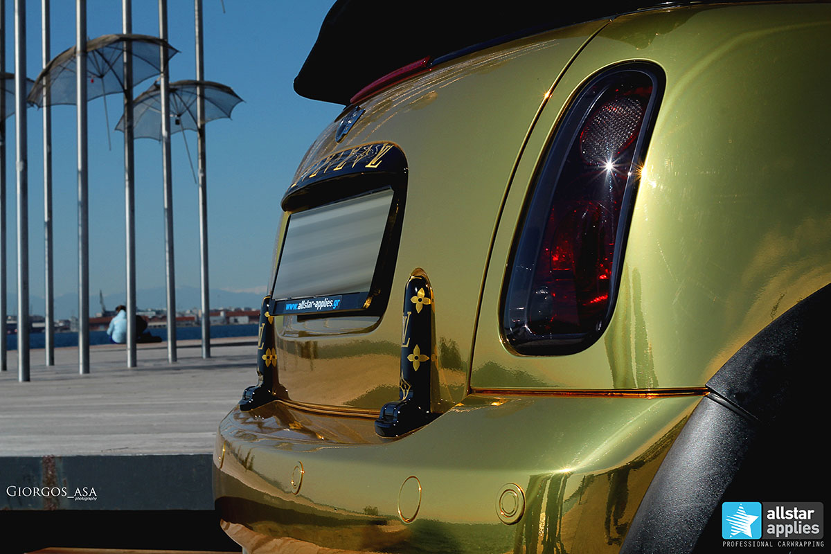 Mini Cooper S - Gold Chrome (12)