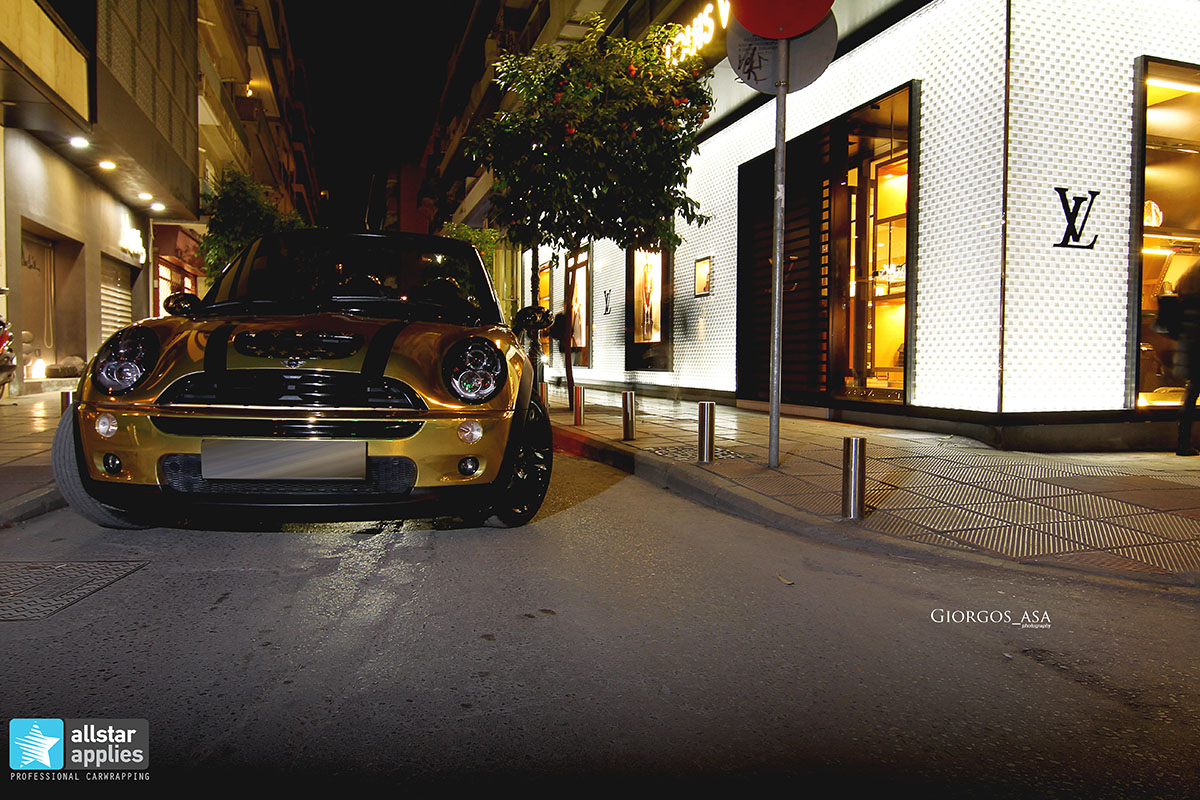 Mini Cooper S - Gold Chrome (13)