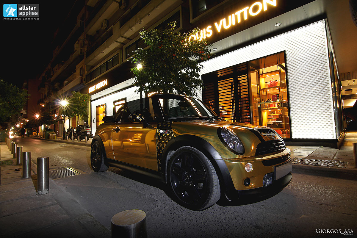 Mini Cooper S - Gold Chrome (14)