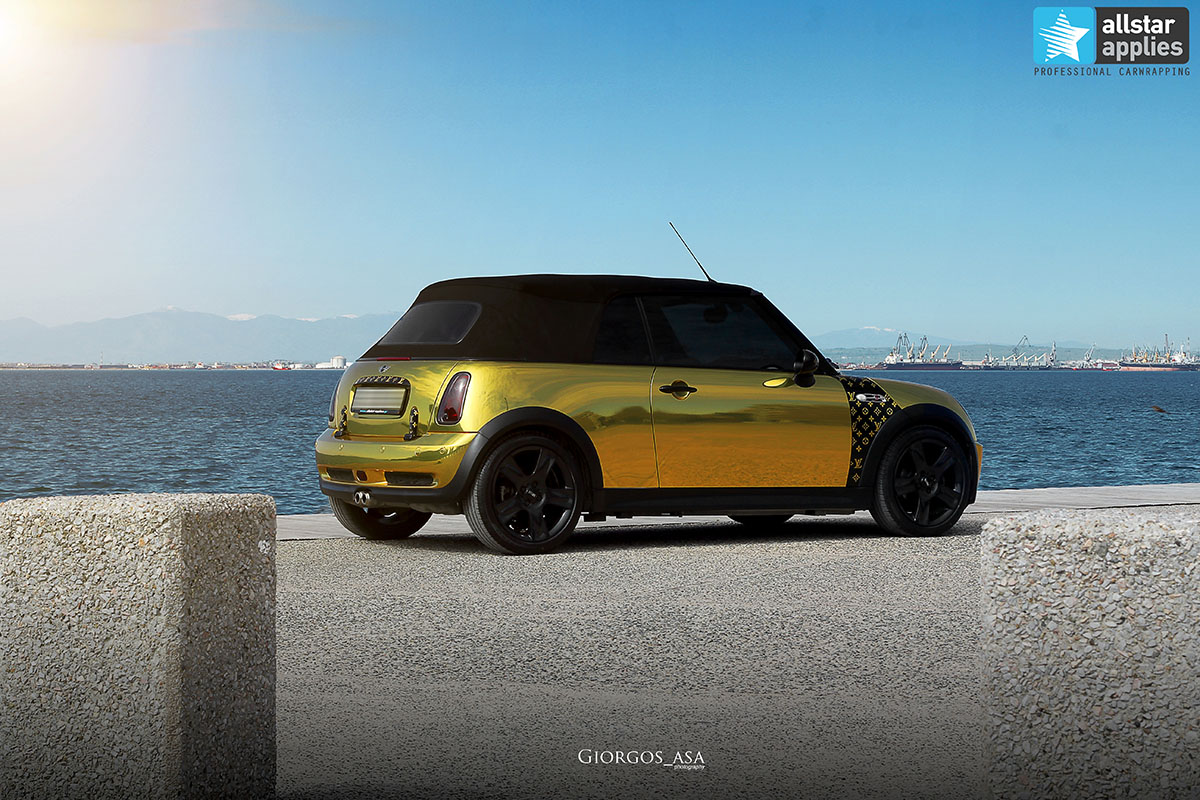 Mini Cooper S - Gold Chrome (4)