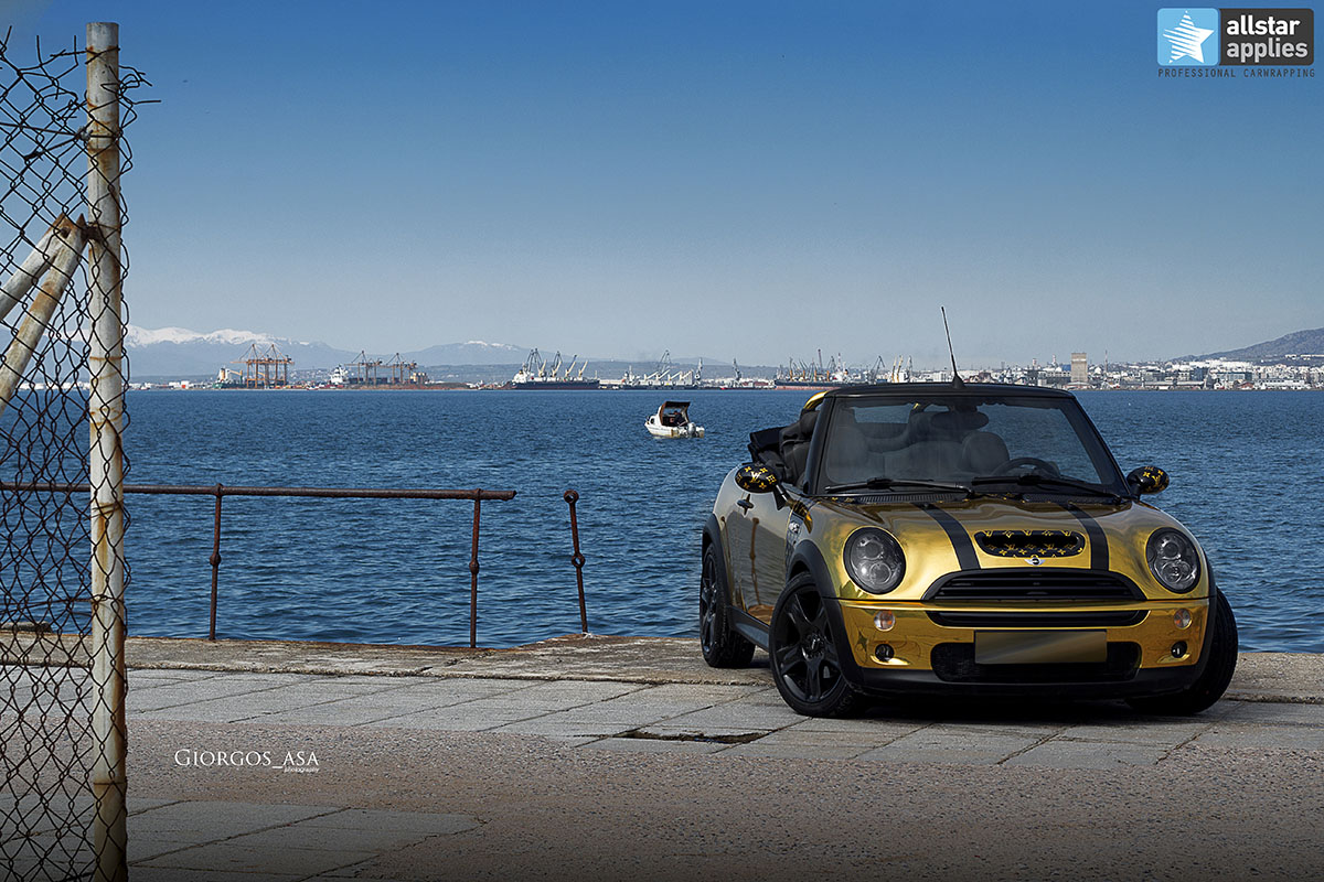 Mini Cooper S - Gold Chrome (7)