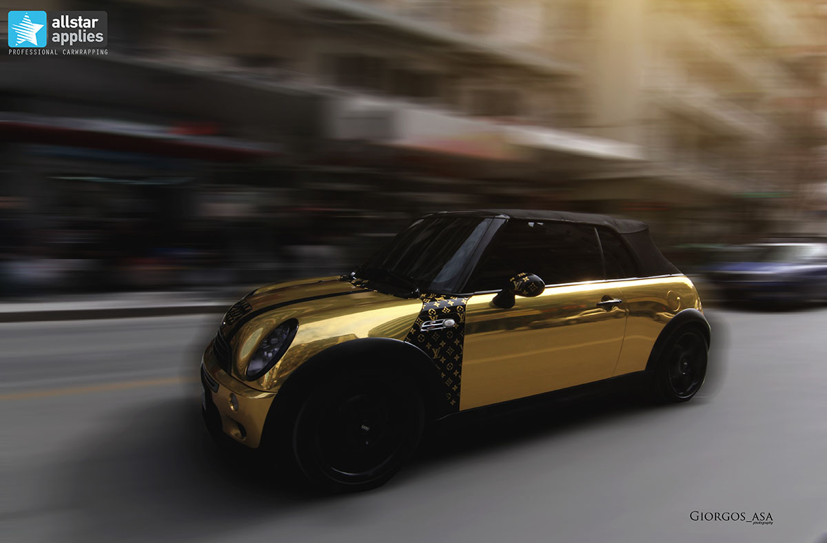 Mini Cooper S - Gold Chrome (8)