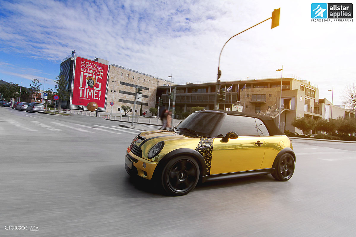 Mini Cooper S - Gold Chrome (9)