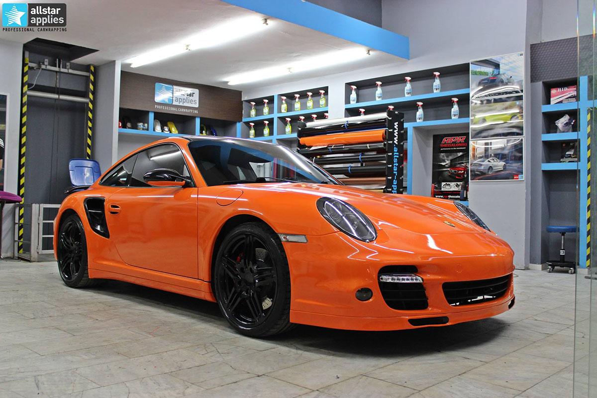 Porsche 911 Turbo - Burnt Orange (1)