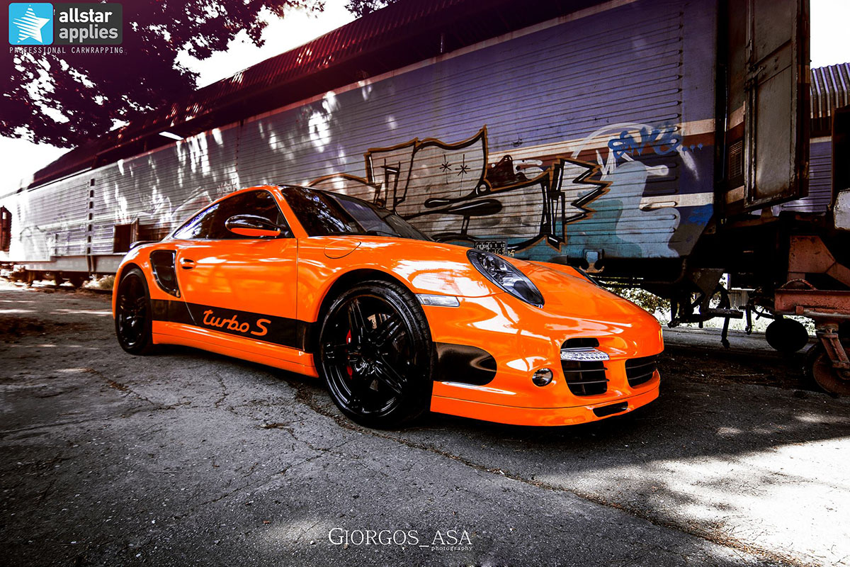 Porsche 911 Turbo - Burnt Orange (2)
