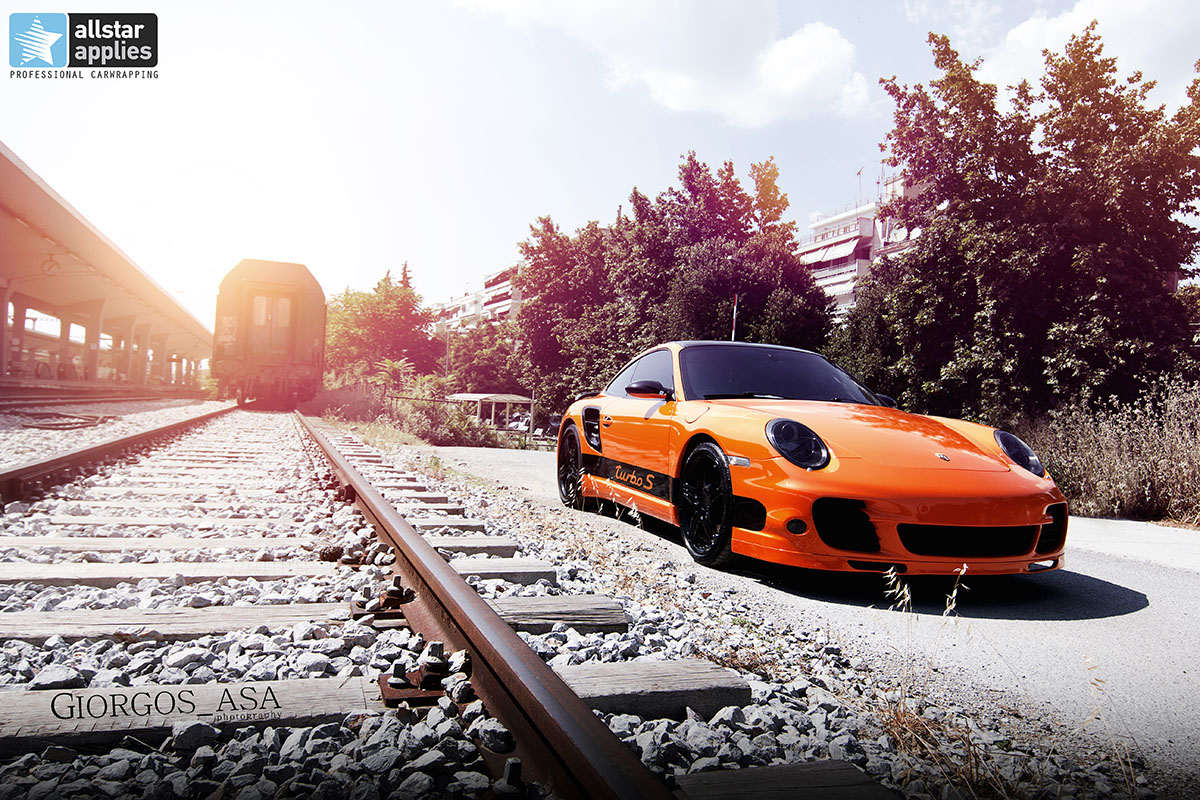 Porsche 911 Turbo - Burnt Orange (3)