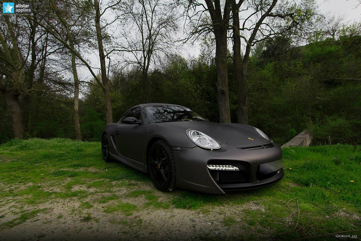 Porsche Cayman – Charcoal Matte Metallic (4)