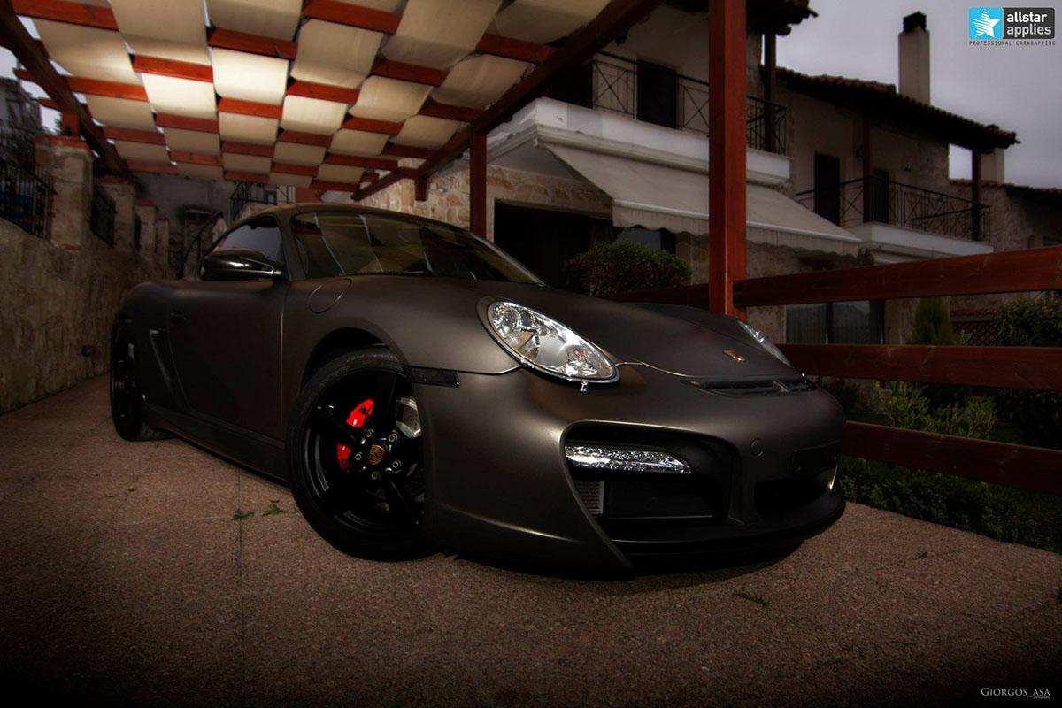 Porsche Cayman – Charcoal Matte Metallic (9)