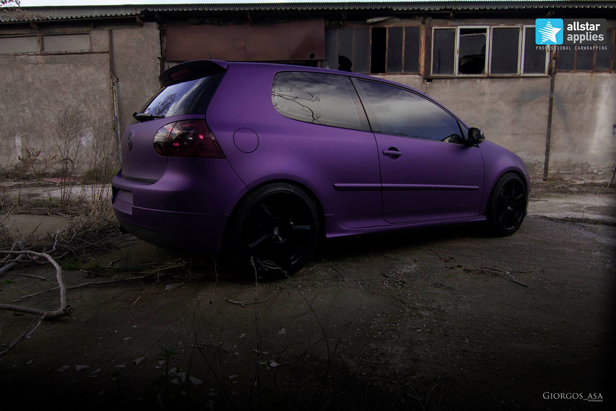 VW Golf – Matte Purple Metallic (10)