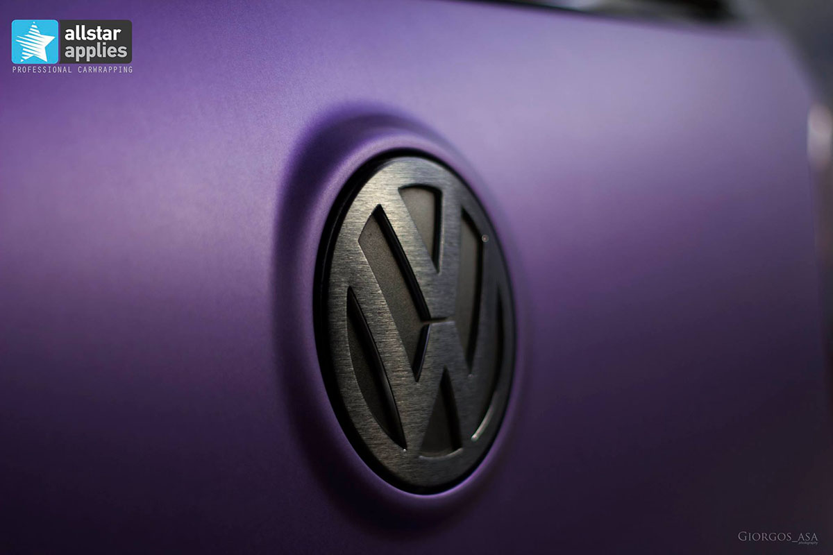 VW Golf – Matte Purple Metallic (2)