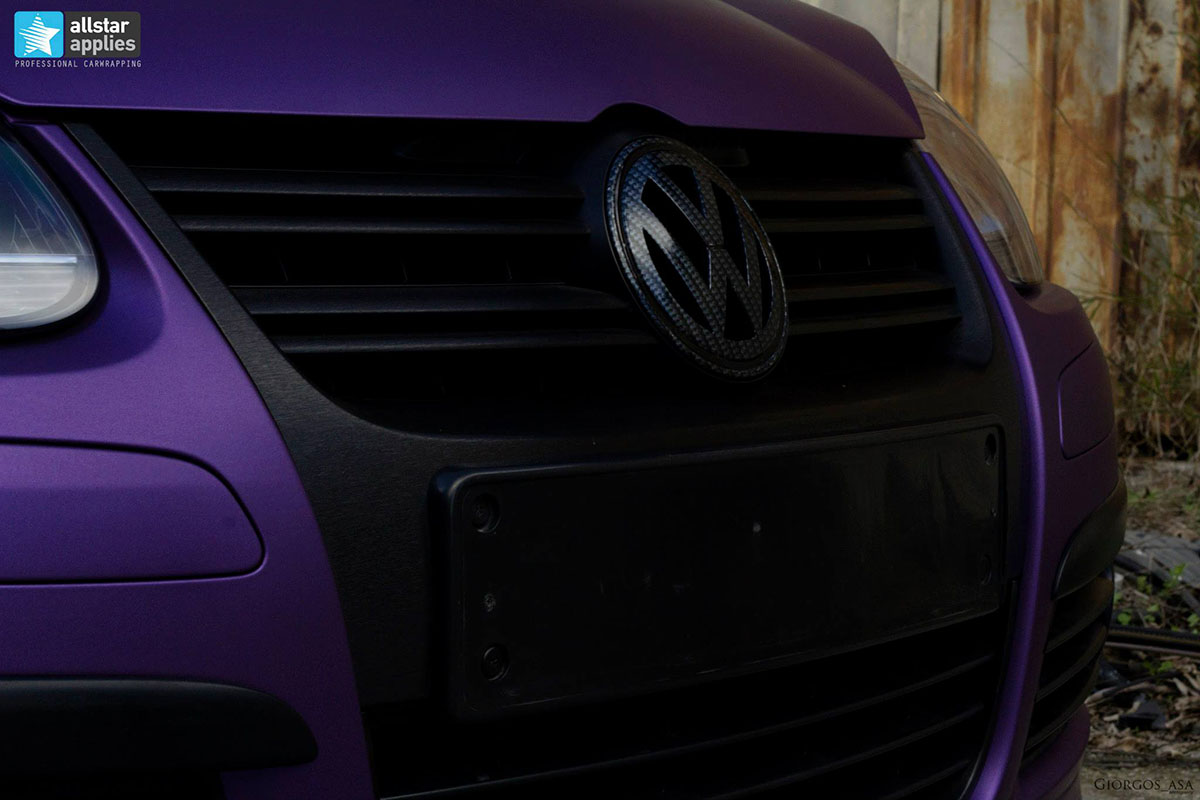 VW Golf – Matte Purple Metallic (3)