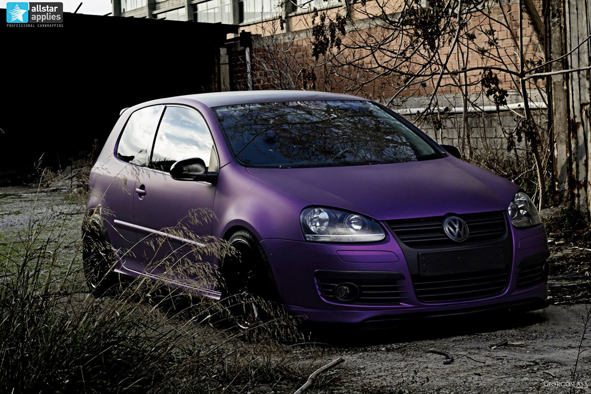 VW Golf – Matte Purple Metallic (4)