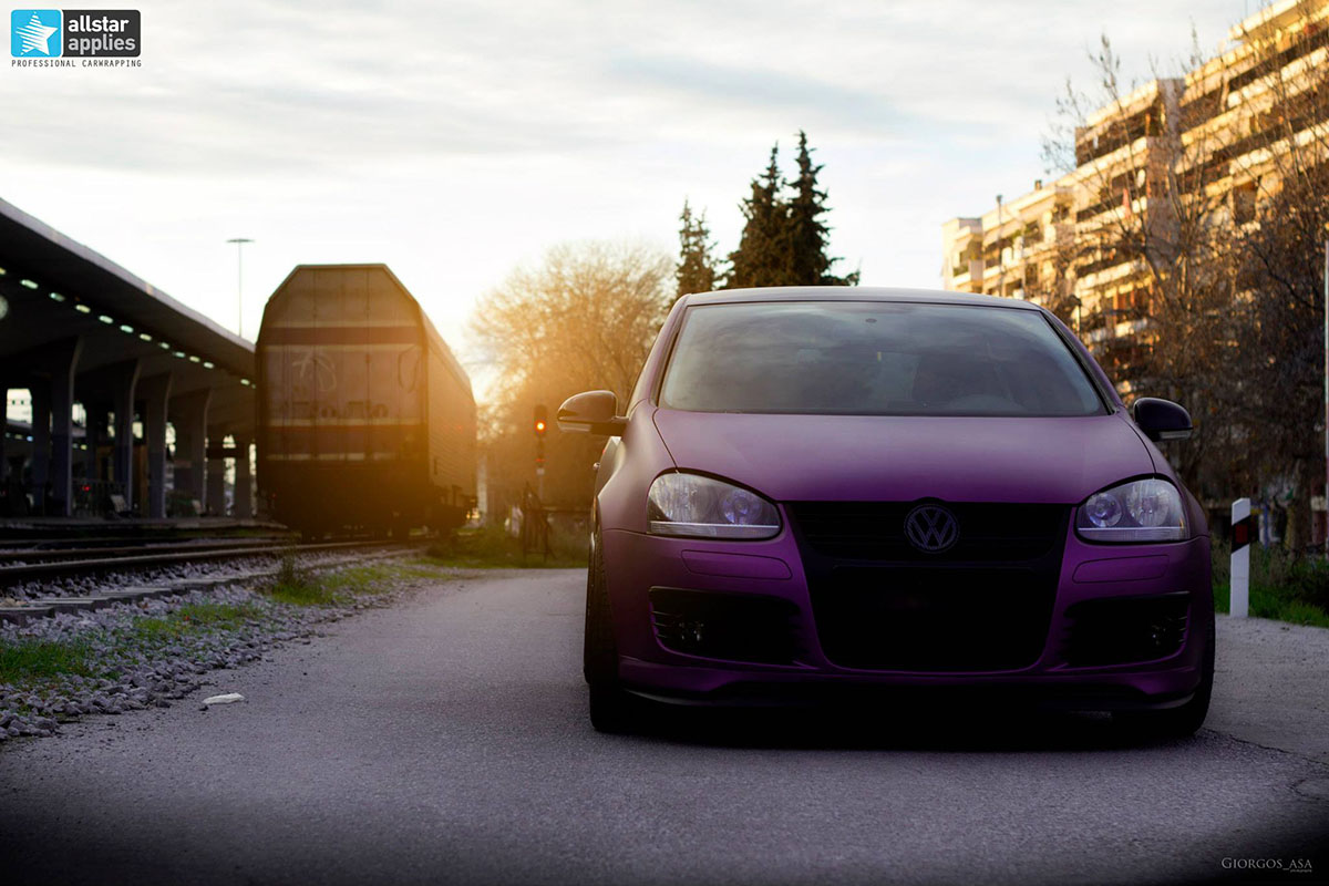 VW Golf – Matte Purple Metallic (5)