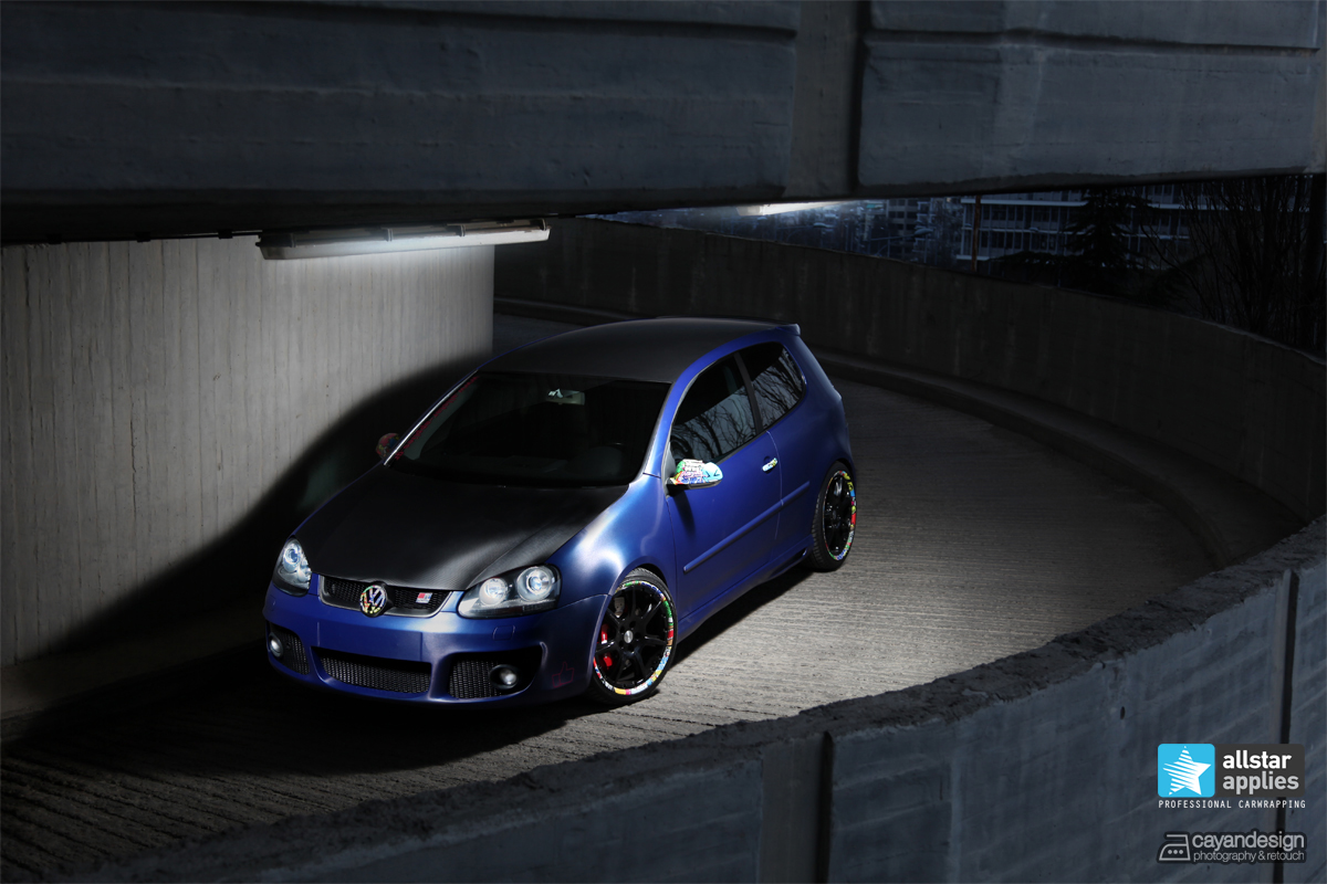 VW Golf GTI - Brushed Blue (1)