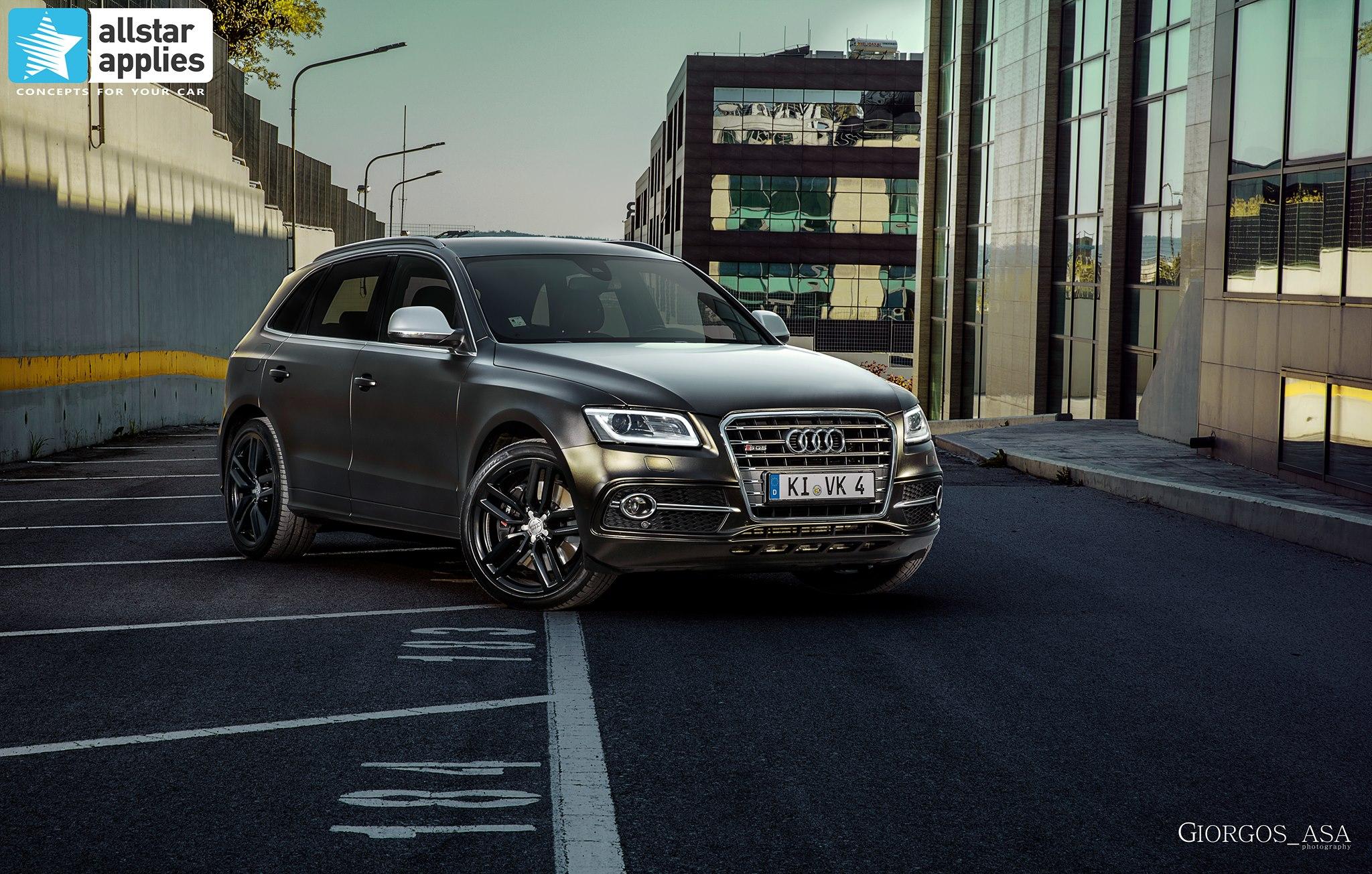 Audi SQ5 - Satin Gold Dust Black (1)