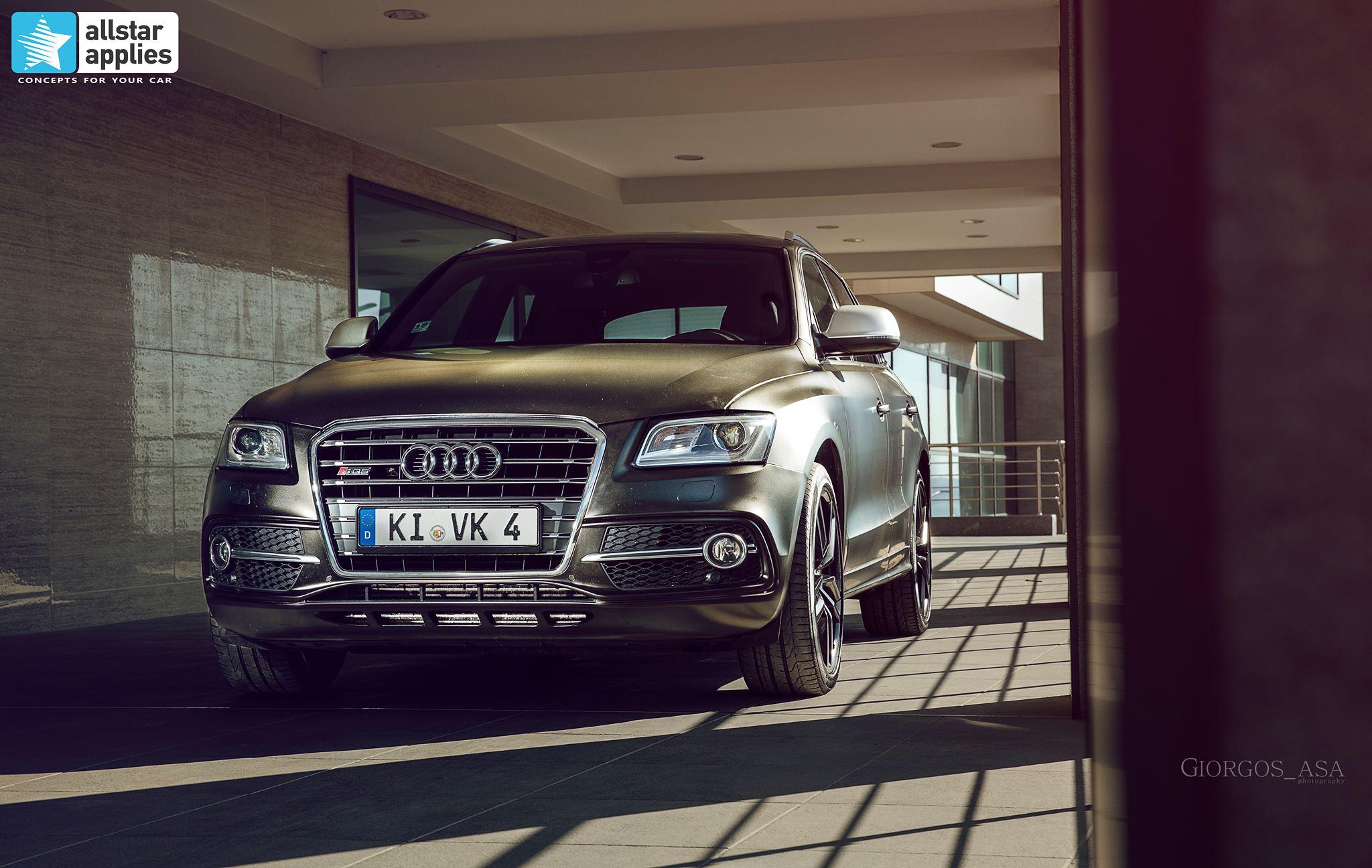 Audi SQ5 - Satin Gold Dust Black (2)