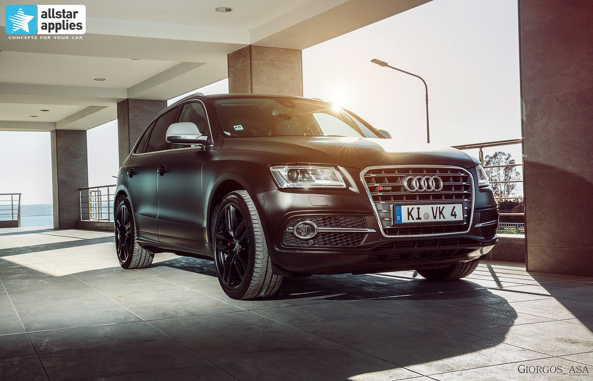Audi SQ5 - Satin Gold Dust Black (3)