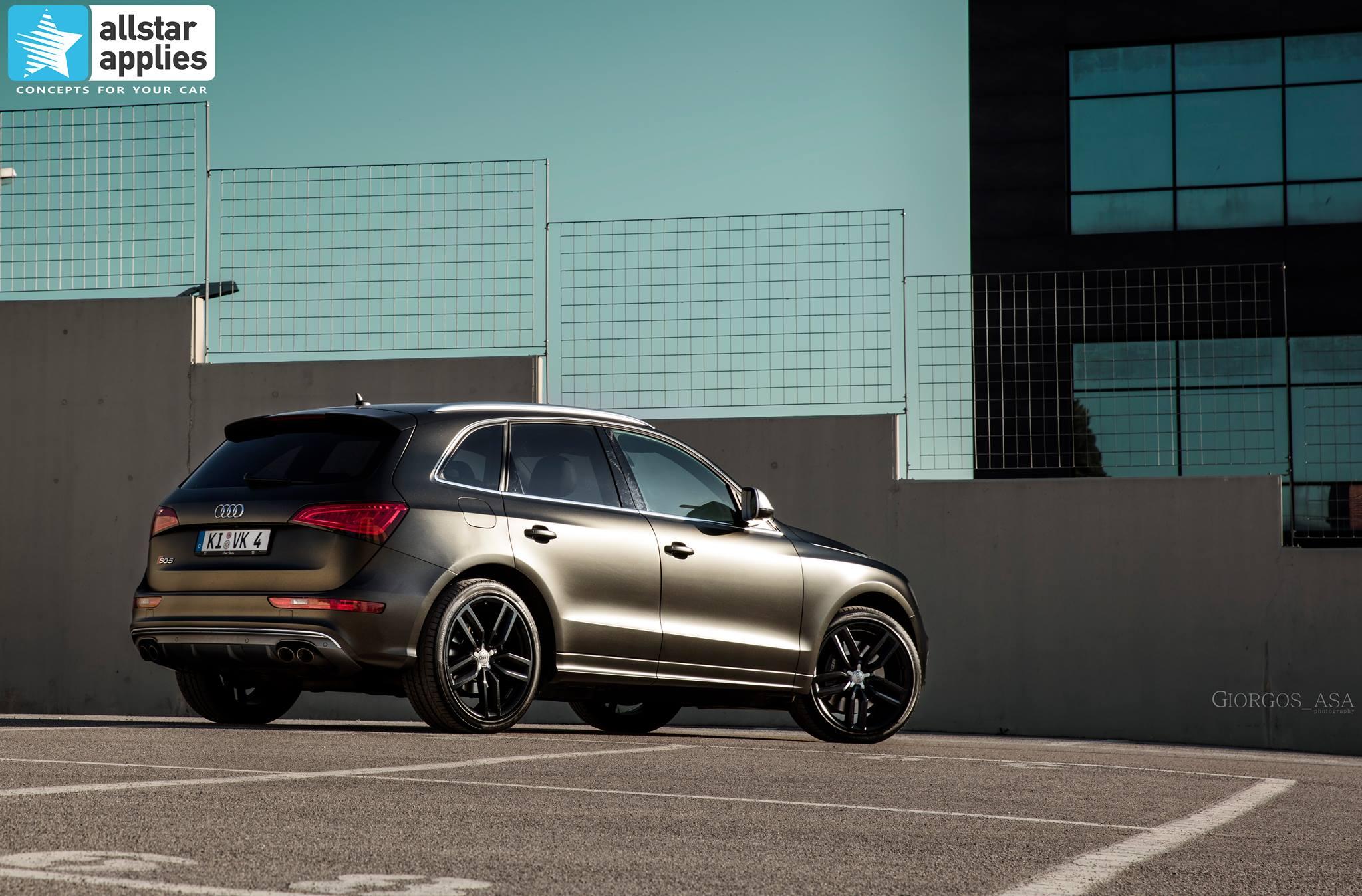 Audi SQ5 - Satin Gold Dust Black (6)