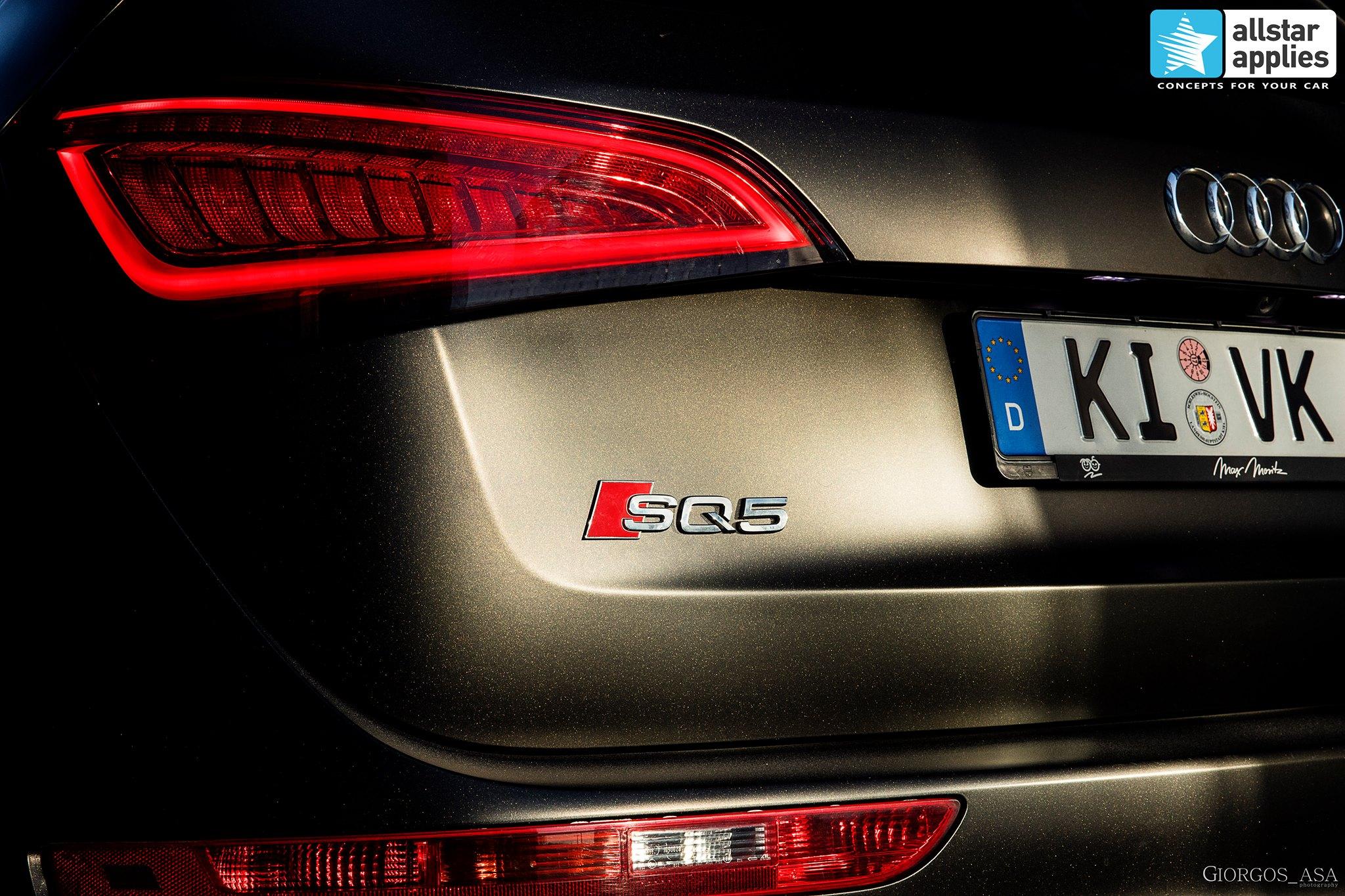 Audi SQ5 - Satin Gold Dust Black (7)