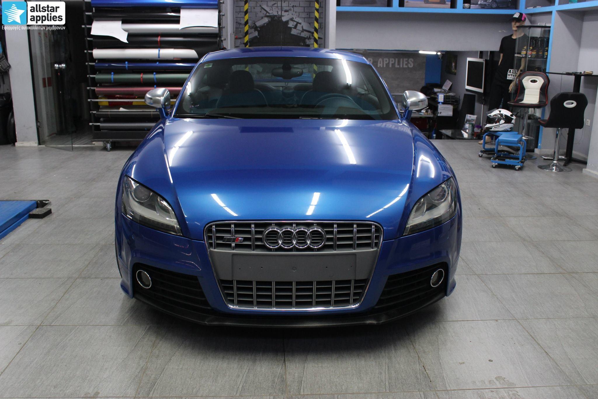 Audi TTS - Daytona Blue (1)