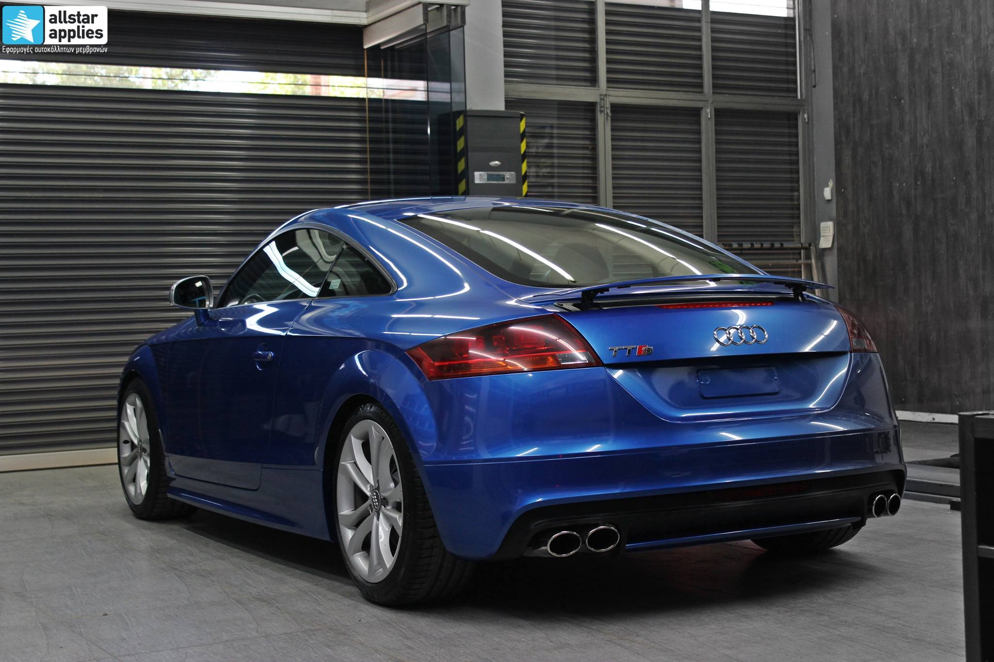 Audi TTS - Daytona Blue (2)