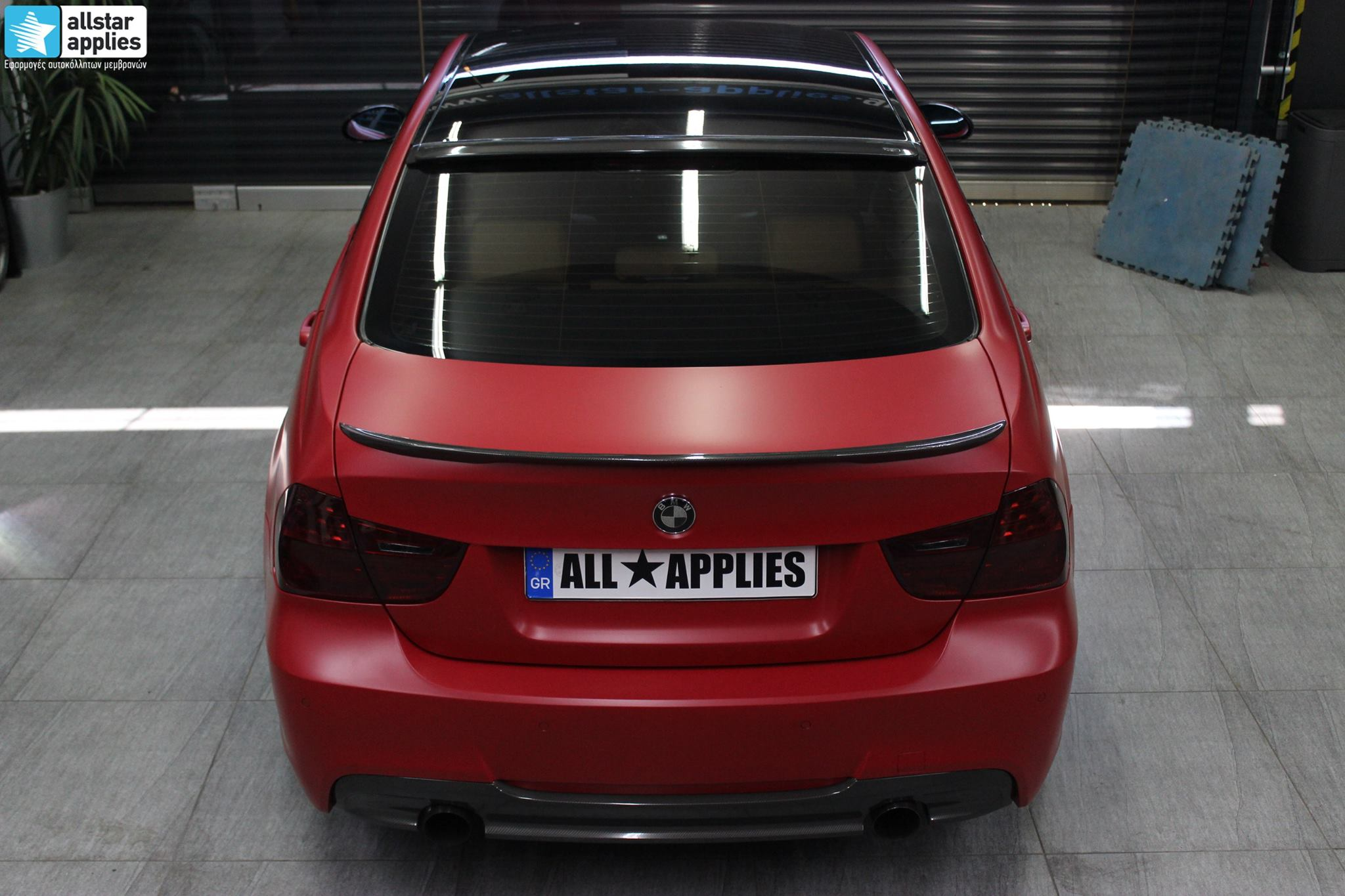 BMW E90 M-Pack - Satin Imperial Red (10)