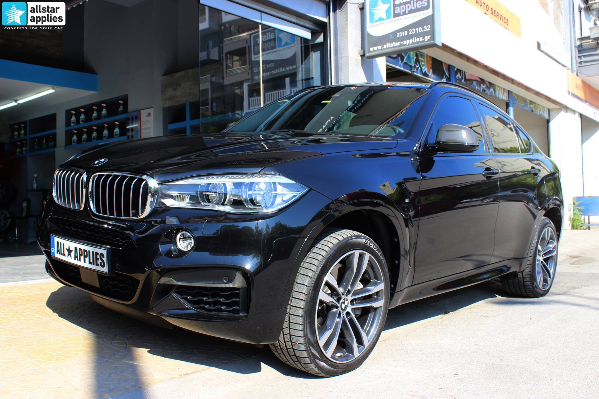 BMW X6 Μ50 - Full Paint Protection Film (16)