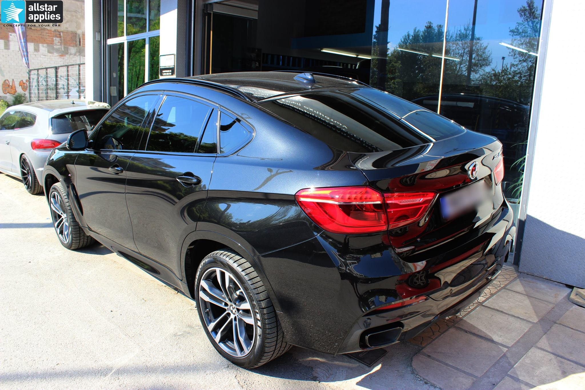 BMW X6 Μ50 - Full Paint Protection Film (17)