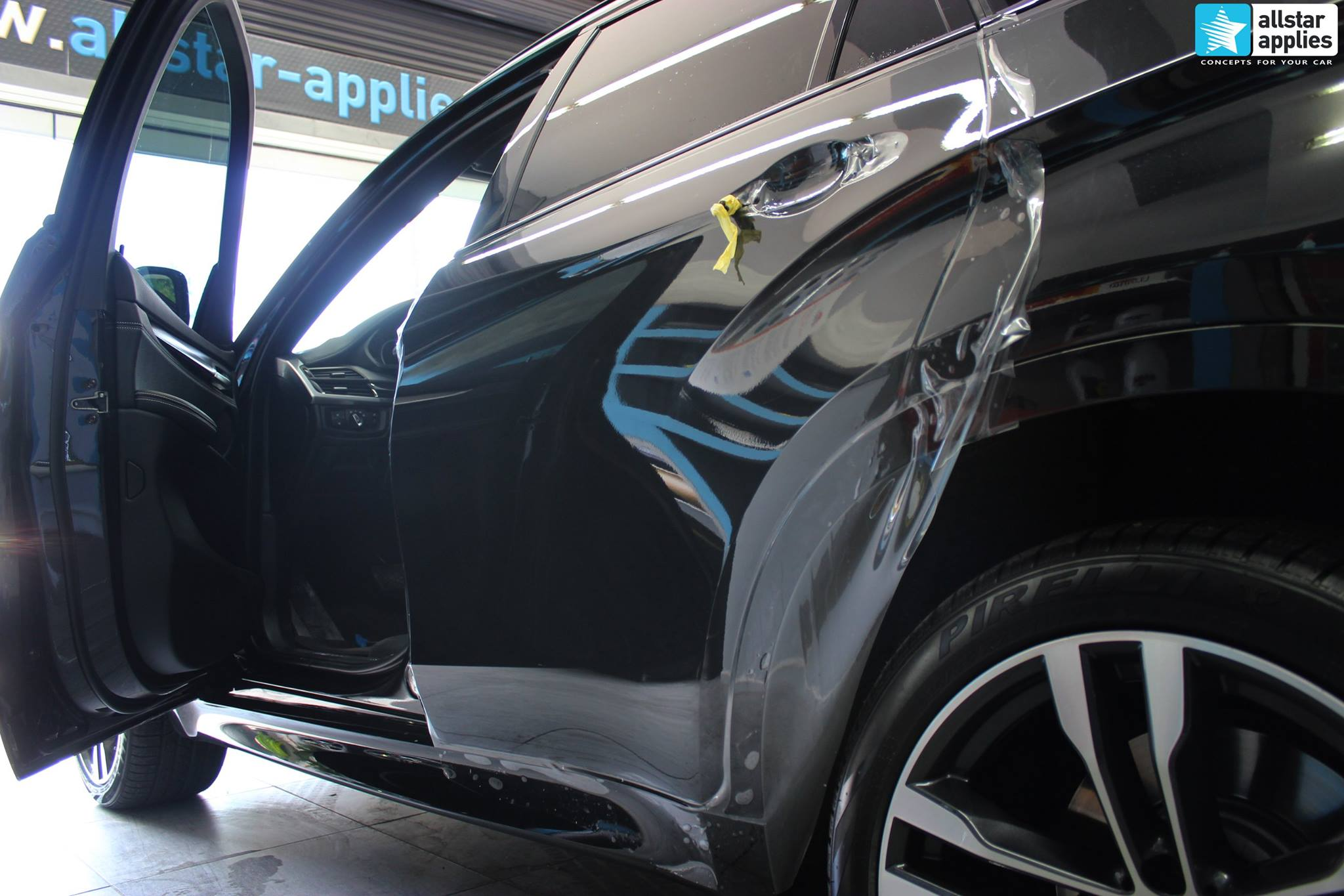 BMW X6 Μ50 - Full Paint Protection Film (7)