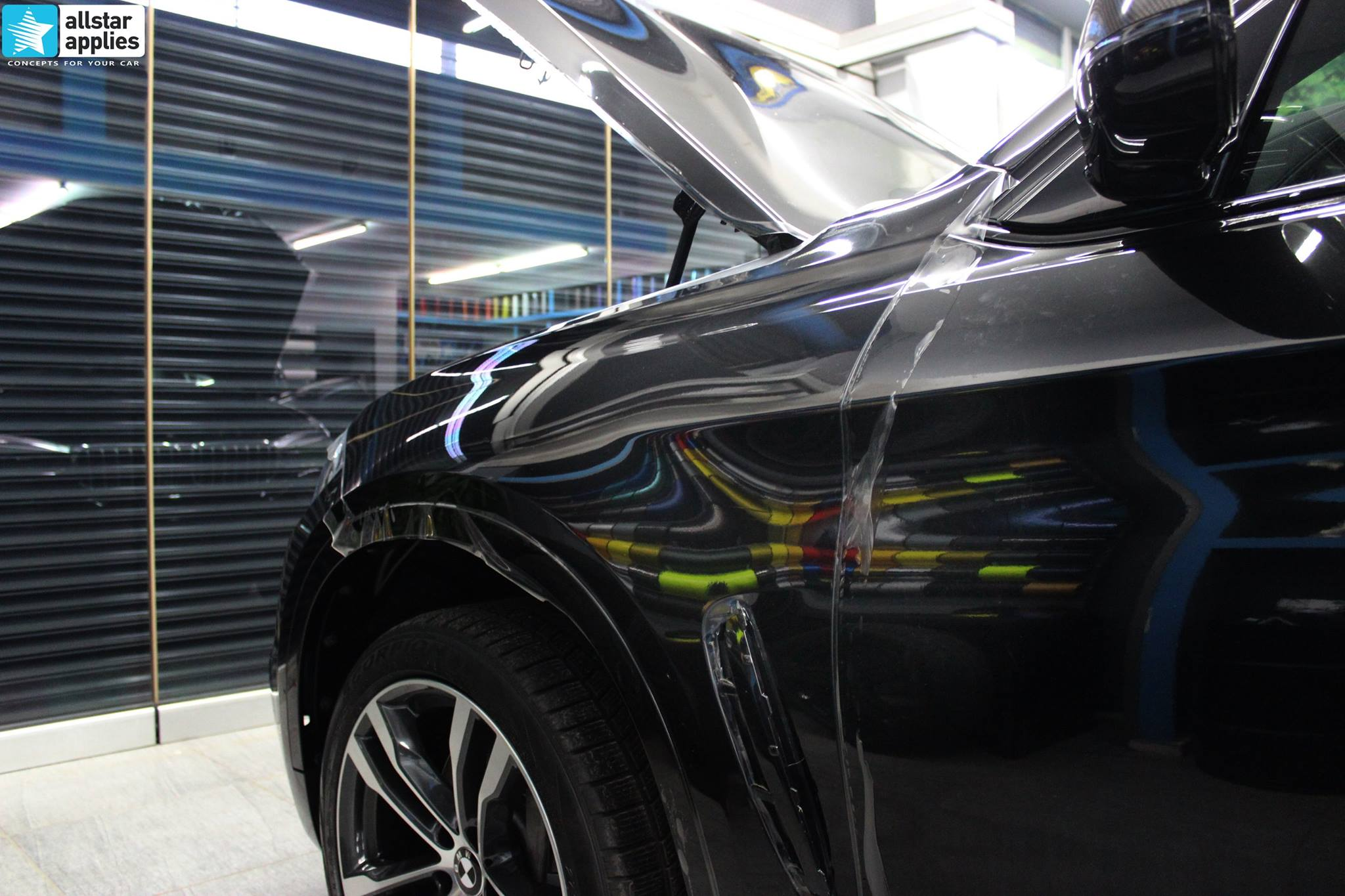 BMW X6 Μ50 - Full Paint Protection Film (9)